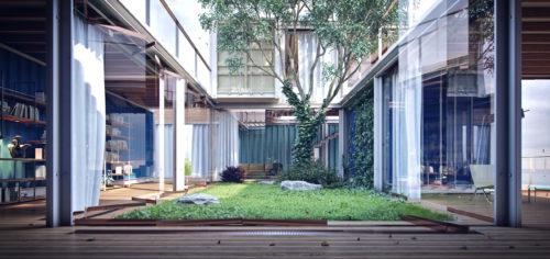 Container Cottage in Australia (2013)